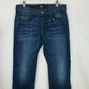 7 For All Mankind Mens 33 Austyn Luxe Performance